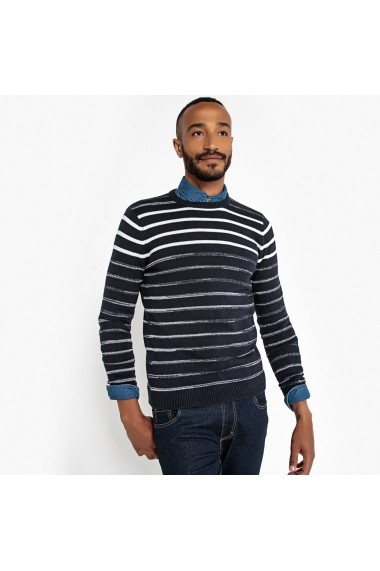 Pulover La Redoute Collections GEU978 bleumarin