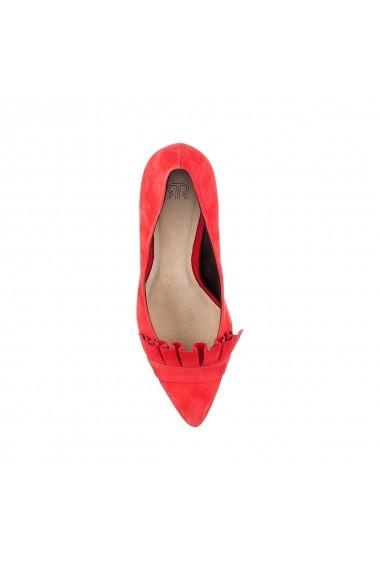 Pantofi cu toc La Redoute Collections GFC035 rosu - els