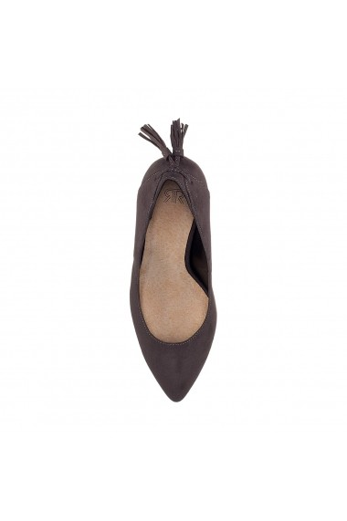 Pantofi cu toc La Redoute Collections GFF117 gri