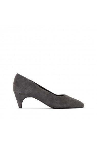 Pantofi cu toc La Redoute Collections GER314 gri
