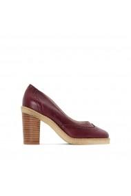 Pantofi cu toc La Redoute Collections GES010 bordo - els