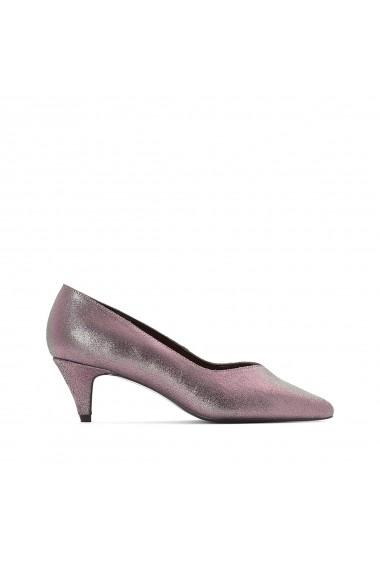 Pantofi cu toc La Redoute Collections GEY870 gri