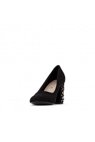 Pantofi cu toc La Redoute Collections GFC283 negru