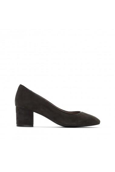 Pantofi cu toc La Redoute Collections GFF115 gri