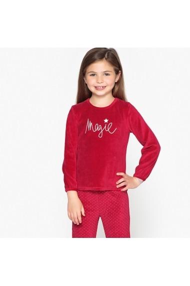 Pijama La Redoute Collections GES715 rosu