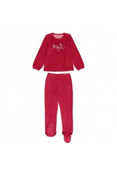 Pijama La Redoute Collections GES715 rosu - els