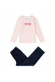 Pijama La Redoute Collections GES728 roz - els
