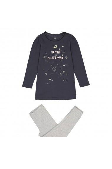 Pijama La Redoute Collections GET220 bleumarin