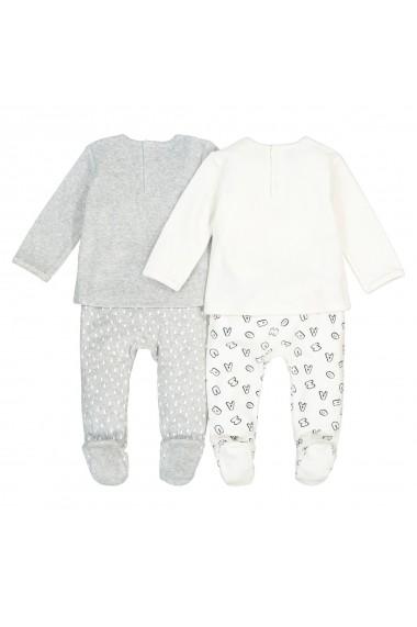 Pijama La Redoute Collections GEU267 gri