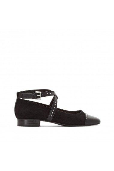 Pantofi cu toc La Redoute Collections GEQ773 negru