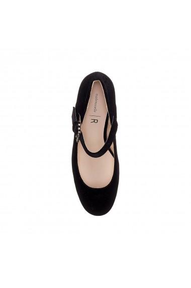 Pantofi cu toc La Redoute Collections GER231 negru