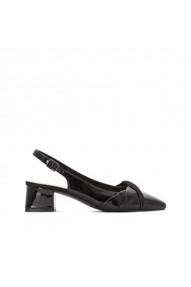 Pantofi cu toc La Redoute Collections GER649 negru