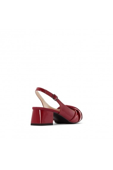 Pantofi cu toc La Redoute Collections GER649 rosu