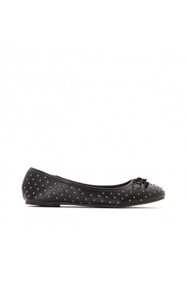 Pantofi cu toc La Redoute Collections GEY879 negru