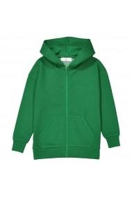 La Redoute Collections Kapucnis sportfelső LRD-GEU064-green Zöld