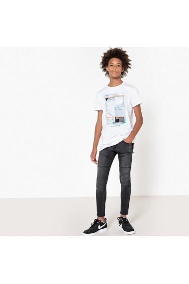 Jeans La Redoute Collections GET774-black Negru