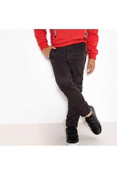 Pantaloni La Redoute Collections GEV323 negru - els