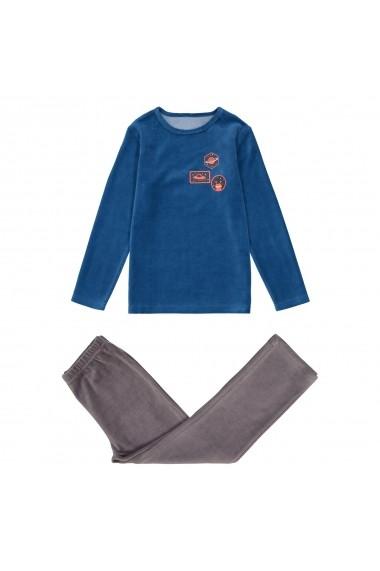 Pijama La Redoute Collections GES604 albastru