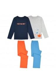 Set 2 pijamale La Redoute Collections GET485 gri - els