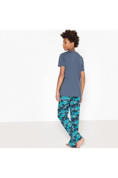 Pijama La Redoute Collections GET503 albastru - els