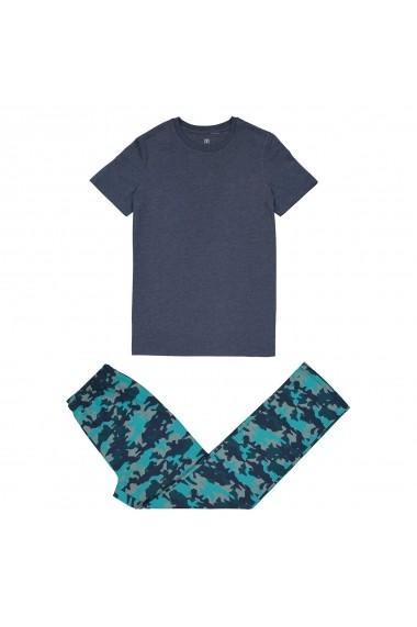 Pijama La Redoute Collections GET503 albastru