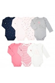 Set 7 bodyuri La Redoute Collections GEQ039 multicolor