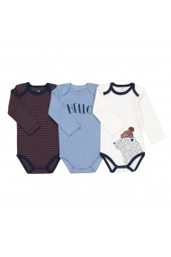 Set 3 body-uri La Redoute Collections GEU017 multicolor - els