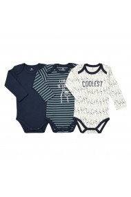 Set 3 body-uri La Redoute Collections GEU020 multicolor - els