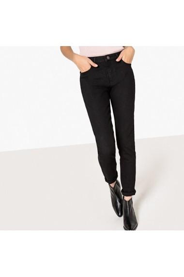 Jeans La Redoute Collections GFH389 negru