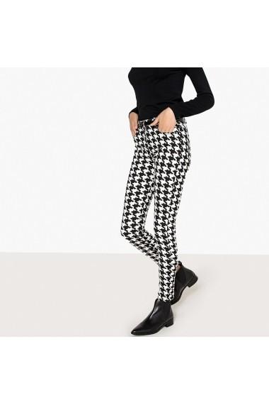 Pantaloni La Redoute Collections GFI253 negru
