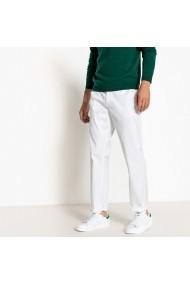 Pantaloni La Redoute Collections GFB830 alb