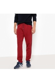 Pantaloni sport La Redoute Collections GEZ265 bordo