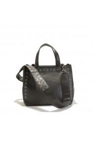 Ръчна чанта La Redoute Collections LRD-GEY428-black черно