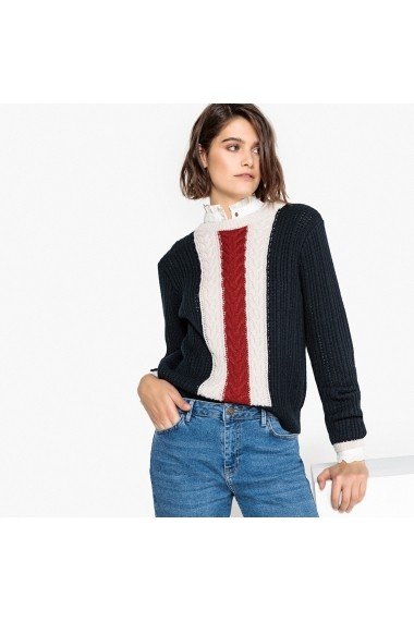 Pulover La Redoute Collections GEY150 bleumarin