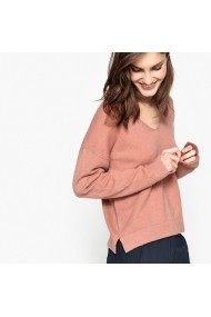 Пуловер La Redoute Collections LRD-GDD677-dusty_pink бледорозово