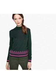 Pulover La Redoute Collections GEY107 verde - els
