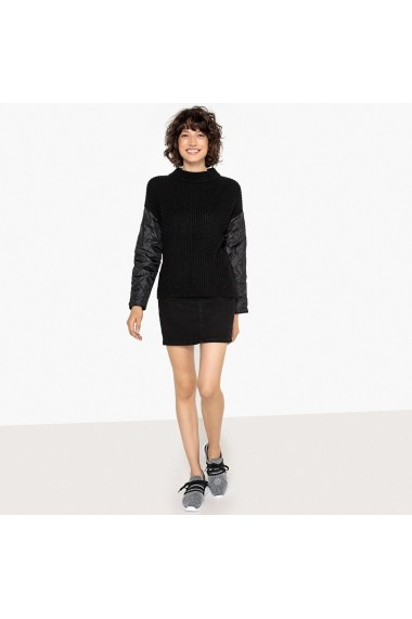 Pulover La Redoute Collections GFA471 negru - els