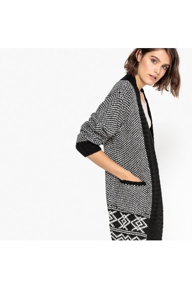 Cardigan La Redoute Collections GEY797 negru