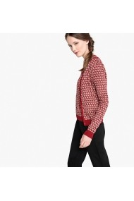 Cardigan La Redoute Collections GDW471 rosu