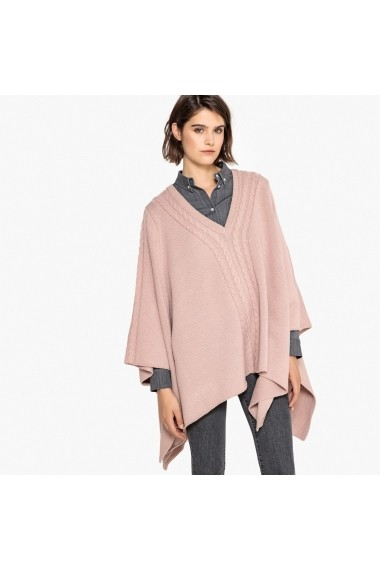 Poncho La Redoute Collections GEY811 roz