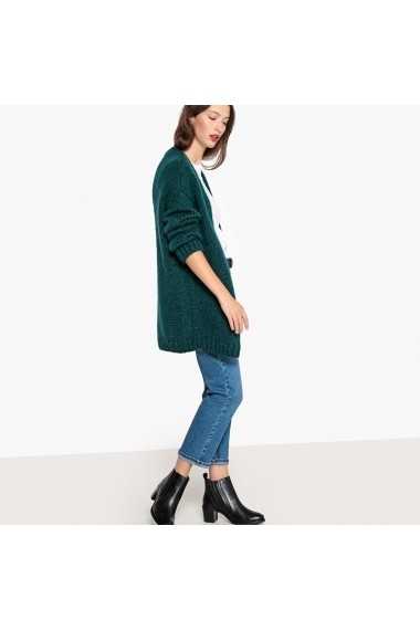 Cardigan La Redoute Collections GFC261 verde