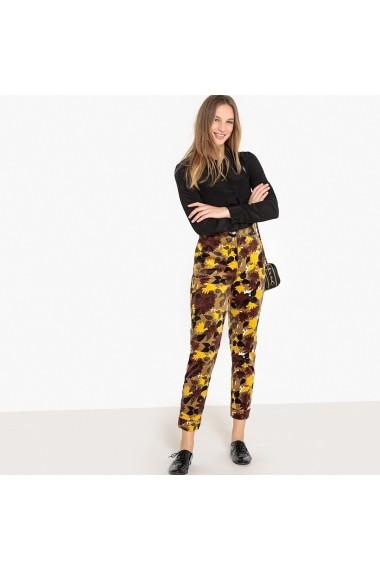 Pantaloni La Redoute Collections GFD415-yellow Multicolor