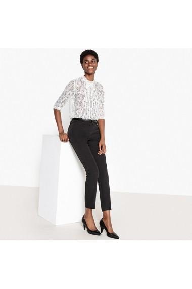 Pantaloni La Redoute Collections GFE455-black Negru