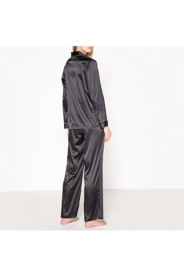 Pijama La Redoute Collections GDB624 negru