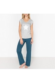 Pijama La Redoute Collections GET445 gri