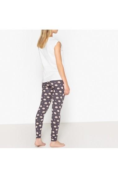 Pijama La Redoute Collections GEW601 alb