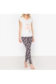 Pijama La Redoute Collections GEW601 alb - els