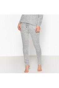 Pantaloni de pijama La Redoute Collections GEY525 gri