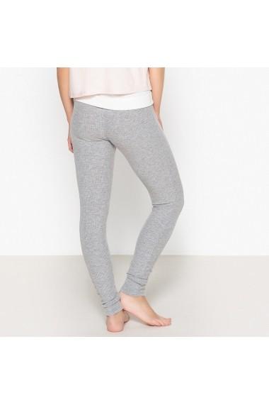 Pantaloni de pijama La Redoute Collections GEY535 gri