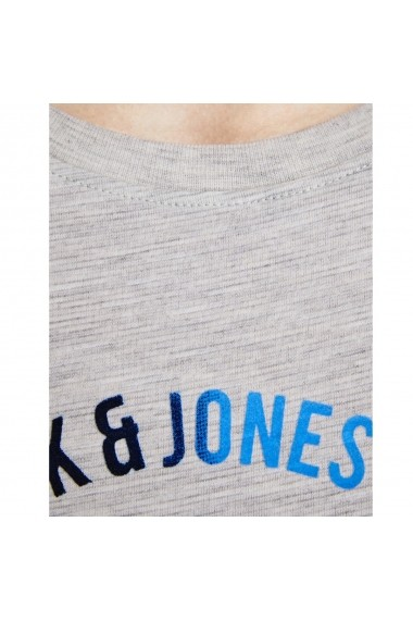 Tricou JACK & JONES GGO256 alb